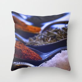 A Spoonful of Spice Throw Pillow