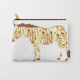 Watercolour Zebra Carry-All Pouch