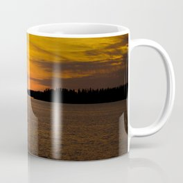 The sun goes down and night falls #decor #society6 #buyart Coffee Mug