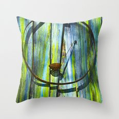 Circle Of Feed Throw Pillow