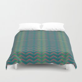 Tribal Green Duvet Cover