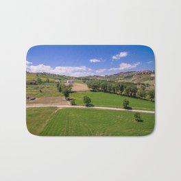 Green Fields of Abruzzo Bath Mat