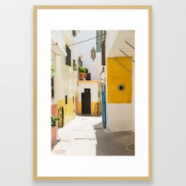 Tangier Framed Art Print