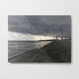 Ominous Shoreline Metal Print