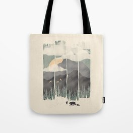 Spring Mountain Weather Tote Bag