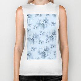 Light Blue Azalea Flower Dream #1 #floral #pattern #decor #art #society6 Biker Tank