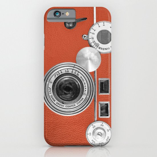 Tangerine Tango retro vintage phone iPhone & iPod Case