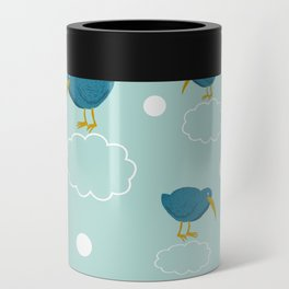 Kiwi birds on the clouds Can Cooler