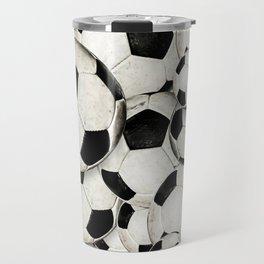 Dirty Balls - footballs Travel Mug
