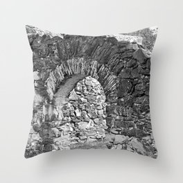 Mission Arch Throw Pillow