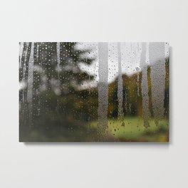 Droplet Landscape II Metal Print
