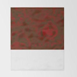 Burgundy IOOF Woven Tapestry Print Throw Blanket