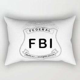 Feds Badge Rectangular Pillow