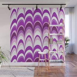 Marbling Comb - Blackberry Wall Mural