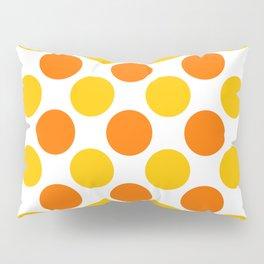 Yellow polka dots Pillow Sham