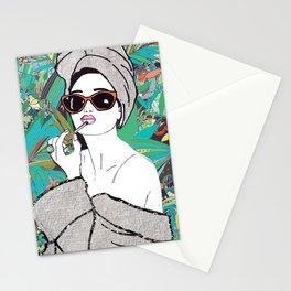 Lip gloss Stationery Cards