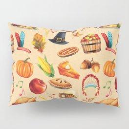 Thanksgiving Fall Autumn Pumpkin Turkey Pillow Sham