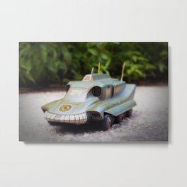 Chromatic Pursual Vehicle Metal Print