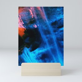 Blue Joy Mini Art Print