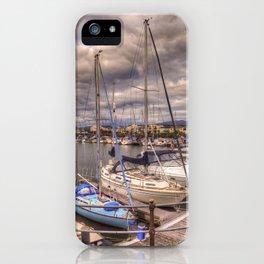 Quayside Porthmadog iPhone Case