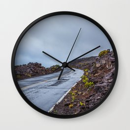 The Endless Road Wall Clock