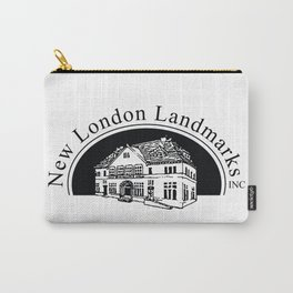New London Landmarks Logo Carry-All Pouch