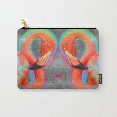 Infinite Possibilities - (Neon Infinity Flamingo) Carry-All Pouch