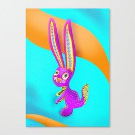 Alebrije (Hare) Canvas Print