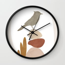 Cute Little Bird III Wall Clock