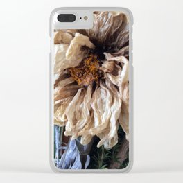 Autumn of Life Clear iPhone Case