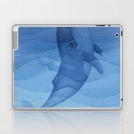 Blue whale, sea animal Laptop & iPad Skin