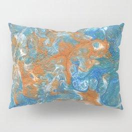 Golden Lacing Pillow Sham