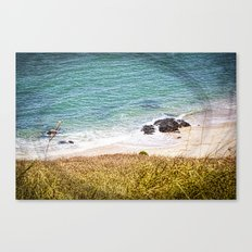 Rocks and Ocean View Canvas Print
