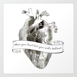 Bless your heart Art Print