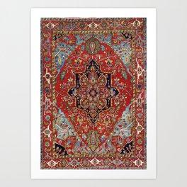 Heriz  Antique Persian Rug Print Kunstdrucke