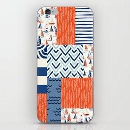 Beautiful Patch 9 (Nautical) iPhone Skin