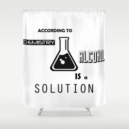 Can't Argue With Science Shower Curtain