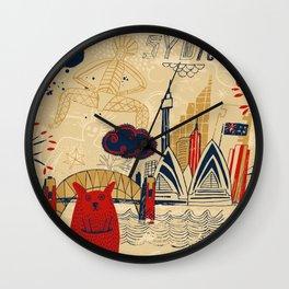 Sydney in Australia Wall Clock
