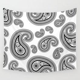 Paisley pattern Wall Tapestry