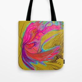 Metamorphosis with me-chartreuse Tote Bag