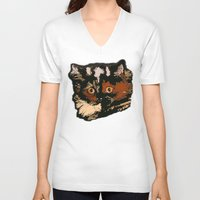 persian V-neck T-shirts featuring Persian Princess by Gangway! Graphics