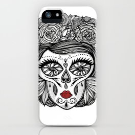Miss Calavera iPhone Case