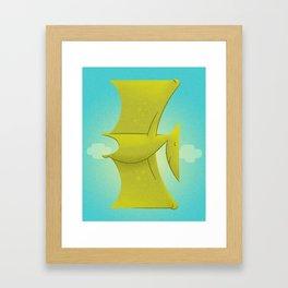 Pter Framed Art Print