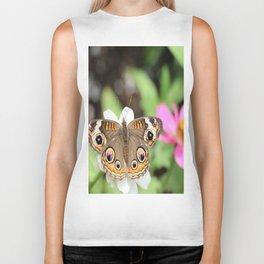 Beautiful Buckeye Butterfly Biker Tank