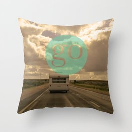 go play Throw Pillow