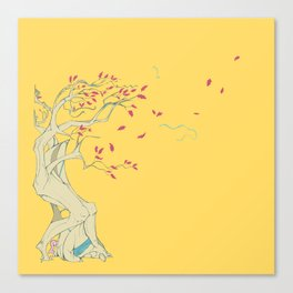 Fall for Oak Canvas Print