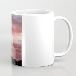 Winter sunset over London Coffee Mug