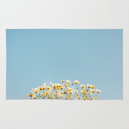 Daisies in the Sky Rug