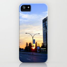Laval at Dawn iPhone Case