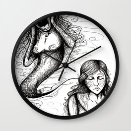 That whole anxiety and shit Wall Clock